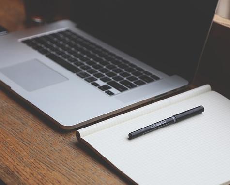 sezione stampa in un sito web aziendale