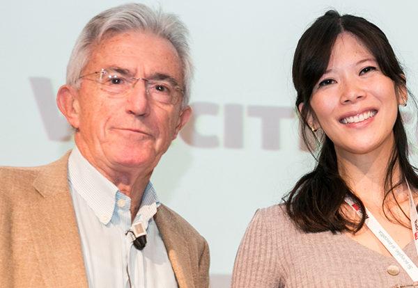 Silvia Wang con Mario Parenti